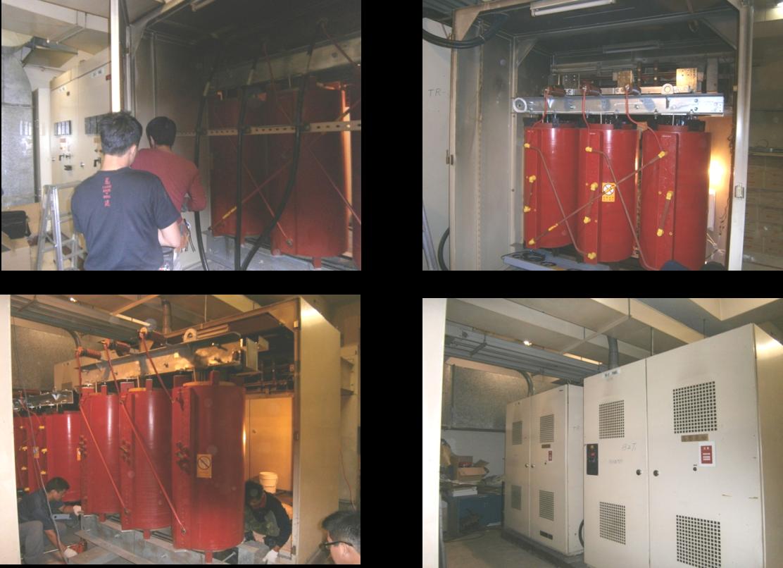 台北百貨公司-高壓變壓器設備汰換