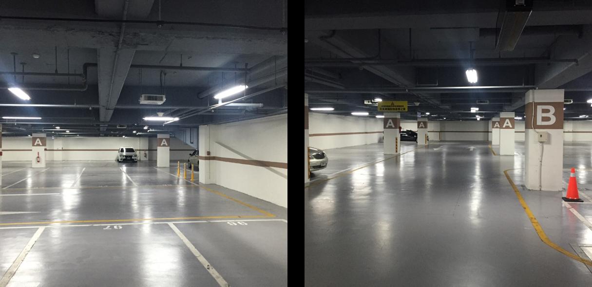 區裝修完工照片-停車場