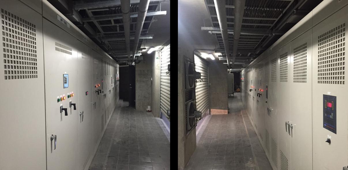 桃園市百貨新建工程-高壓變電站